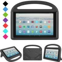 All-New Fire HD 10 2019/2017 Tablet Case - TIRIN Light Weight Shock Proof Handle Stand Kids Friendly Case for Amazon Fire HD 10.1 Inch Tablet (9th/7th Generation, 2019/2017 Release), Black