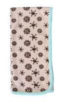Cat & Dogma Organic Baby Swaddle Blanket 35X35 - Henna