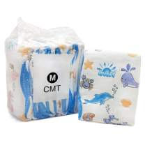 TEN@NIGHT Adult Baby Diaper One time Diaper ABDL Incontinence Underwear DDLG 8 Pieces (Blue)