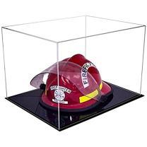Better Display Cases Acrylic Fireman's Helmet Display Case