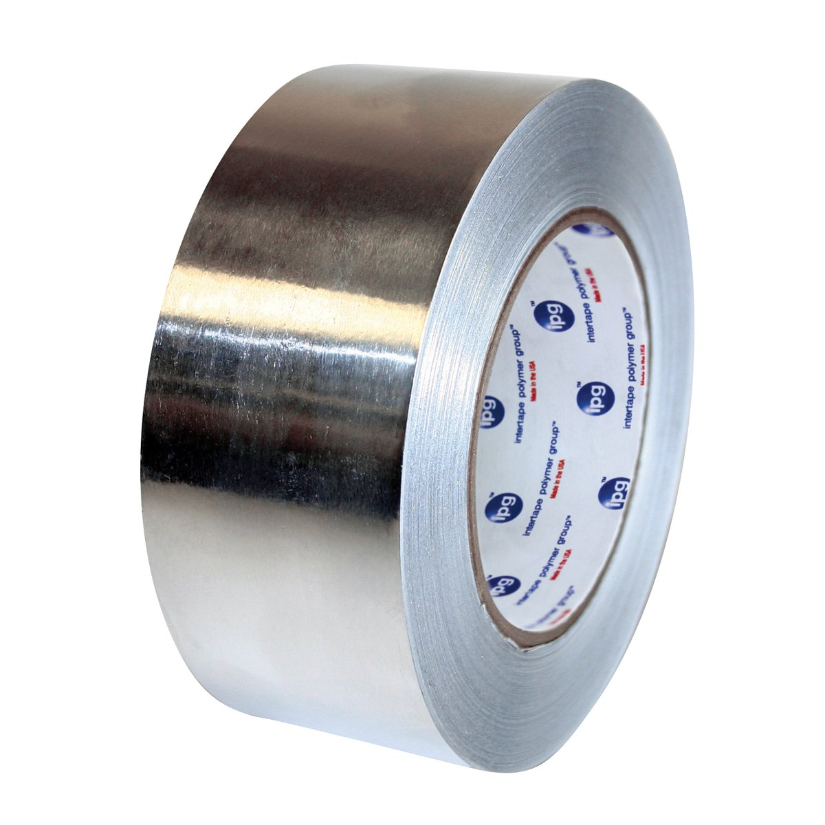 IPG ALF175L Medium Grade Cold Temperature Aluminum Foil Tape, 72mm x 45.7M, Silver, (16-Pack)