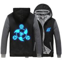 HOLRAN Naruto Noctilucent Akatsuki Thicken Jacket Cosplay Sweater