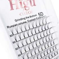 5D Russian Volume Eyelash Extensions 0.07 C Curl 10mm Short Premade Fans Lash|8-15mm 3D 4D 5D 6D C/D Curl 0.07/0.10mm|