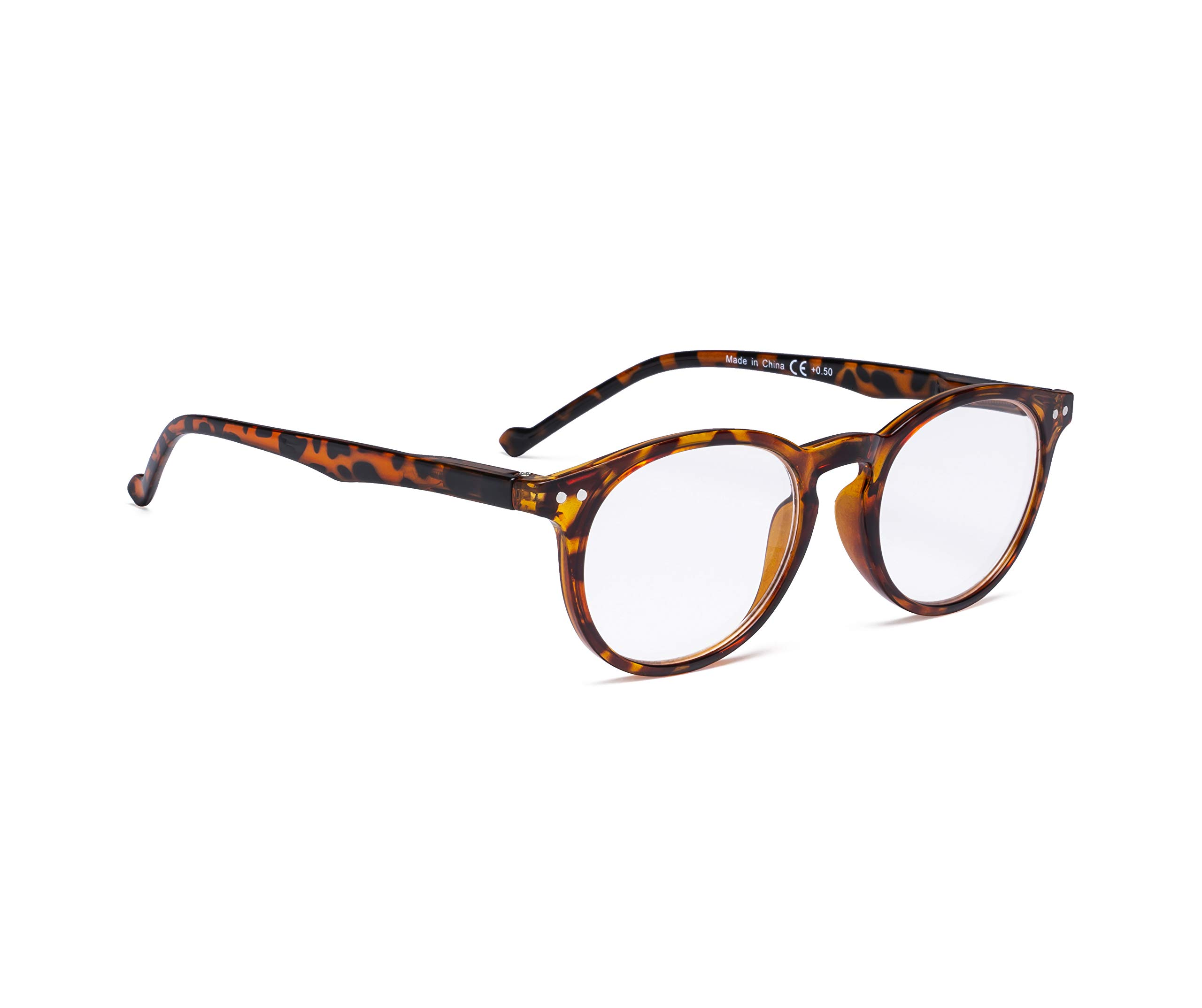 Reading Glasses Spring Hinges Oval Round Readers Women
