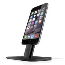 Twelve South HiRise for iPhone/iPad, Black | Adjustable Charging Stand, Requires Apple Lightning Cable