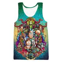 YX GIRL Lisa Frank T Shirt Dolphins Novelty Unisex 3D Printed Summer T-Shirt (R-MV1, 4XL-5XL)