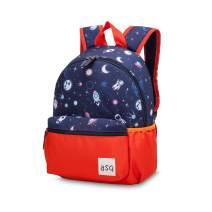 willikiva 12 Toddler Backpack for kids Girls and Boys Wtaterproof Preschool Bag (orange)