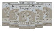 Dr. Woods Coconut Milk Shea Butter Soap, 5.25 oz (Pack of 6)