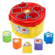 VTech Sort and Discover Drum, Great Gift for Kids, Toddlers, Toy for Boys and Girls, Ages Infant, 1, 2, 3