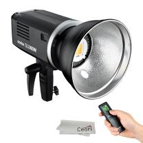 Godox SLB60W 60Ws 5600K LED Video Light Monolights with 8700mAh Li-ion Battery Pack for Indoor Outdoor Photography Portrait Shooting