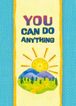 "Blue Mountain Arts Little Keepsake Book""You Can Do Anything"" 4 x 3 in. Encouraging Pocket-Sized Gift Book Perfect for Birthday, Graduation, or""Thinking of You"" Gift for Him or Her"