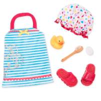 """Our Generation by Battat- Duck & Bubbly Bath Set Outfit- 18"""" Doll Clothes & Accessories Toys- for Age 3 Years & Up"""