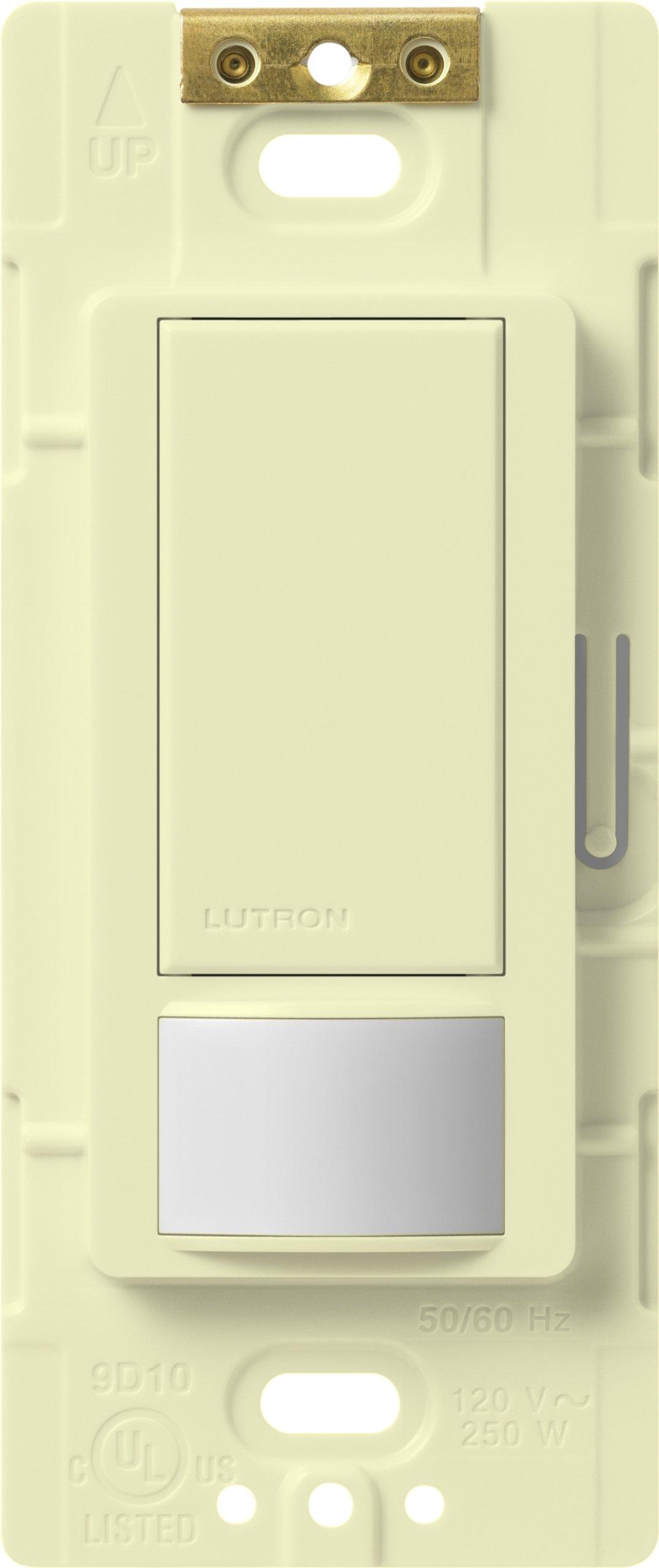 Lutron MS-VPS5M-AL Maestro 600 Watt Single Pole/3-Way Vacancy Sensor Switch, Almond