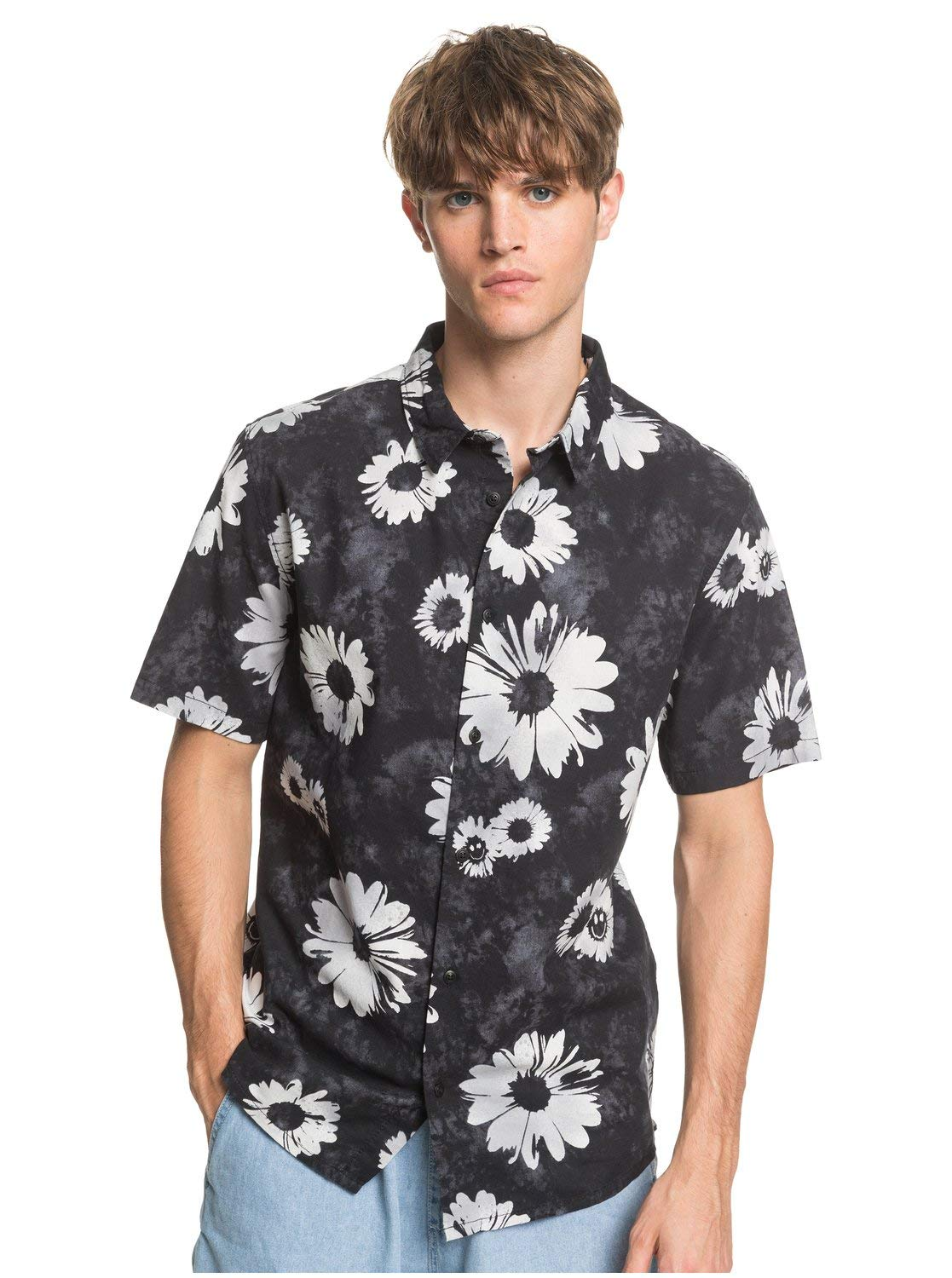 Quiksilver Men's Daisy Spray Short Sleeve Cotton