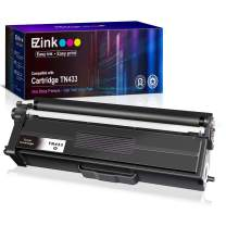 E-Z Ink (TM) Compatible Toner Cartridge Replacement for Brother TN-433 TN433 TN431 High Yield to use with HL-L8260CDW HL-L8360CDW HL-L8360CDWT MFC-L8900CDW MFC-L8610CDW HL-L9310CDW (Black, 1 Pack)