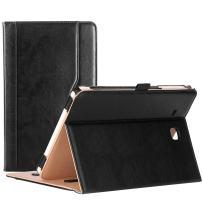 """ProCase Galaxy Tab E 9.6 Case – Vintage Stand Folio Case Cover for Galaxy Tab E 9.6""""/ Tab E Nook 9.6-Inch Tablet (SM-T560 / T561 / T565 and SM-T567V Verizon 4G LTE Version) -Black"""