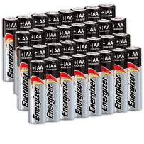 32 Count Energizer AA Batteries, Double A Battery Max Alkaline, Long Lasting, Leak Resistant, The Perfect Choice of Power for All AA Battery Operated Devices