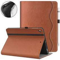 VORI iPad 9.7 2018/2017 (6th/5th Generation) Case - Multiple Viewing Angles iPad 6th Generation Covers Fit iPad Air 2 / iPad Air (Brown)
