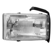 Passengers Headlight Headlamp Lens Replacement for 94-02 Dodge Ram Pickup Truck 55076748AO 55076748AD