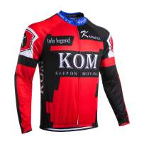 Men's Cycling Jersey Long Sleeve Bicycle Cloth Bike Shirt Cycle Clothing