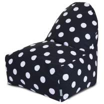 Majestic Home Goods Polka Dot Kick-It Chair, Large