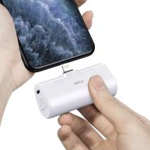 iWALK Small Portable Charger 4500mAh Ultra-Compact Power Bank Cute Battery Pack Compatible with iPhone 11 Pro/XS Max/XR/X/8/7/6/Plus Airpods and More,White