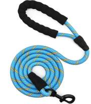 Mycicy Heavy Duty Dog Leash, 6 Foot Rope Dog Leash for Strong Dogs Unique Pattern Colorful Round Basic Dog Leash for Large Medium Small Dogs