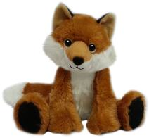 "First & Main Sitting Floppy Friends Fox Plush Toy, 7"""" H"