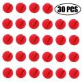 "TIHOOD 30PCS 2""x2"" Red Circus Clown Nose Halloween Christmas Costume Party"