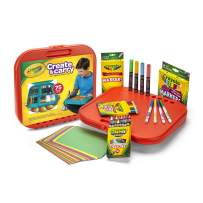 Crayola 04-6814 Create 'N Carry 75Pc Art Kit Art Gift for Kids 5 & Up