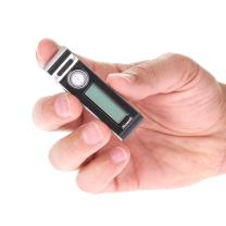 MR80 Mini Clip Small Voice Recorder Voice Activated Audio Recording Device Tiny Micro + 72 Hour Battery Life w/Extended Battery Pack