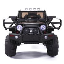 JAXPETY 12V Kids Ride On Truck Battery Powered Electric Car Truck Style with Remote Control, Black