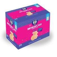 Goodie Girl | Birthday Cake Cookies | Certified Gluten Free | Peanut Free | Egg Free | Dairy Free | Vegan | Kosher | 33.8oz Total, 3 Individually Wrapped 10.6oz Trays for Freshness