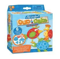 Artzooka - DIY Craft Set for Creative Kids, Make Animals from Cupcake Liners - Craft Kit for Girls and Boys - SMU-3202