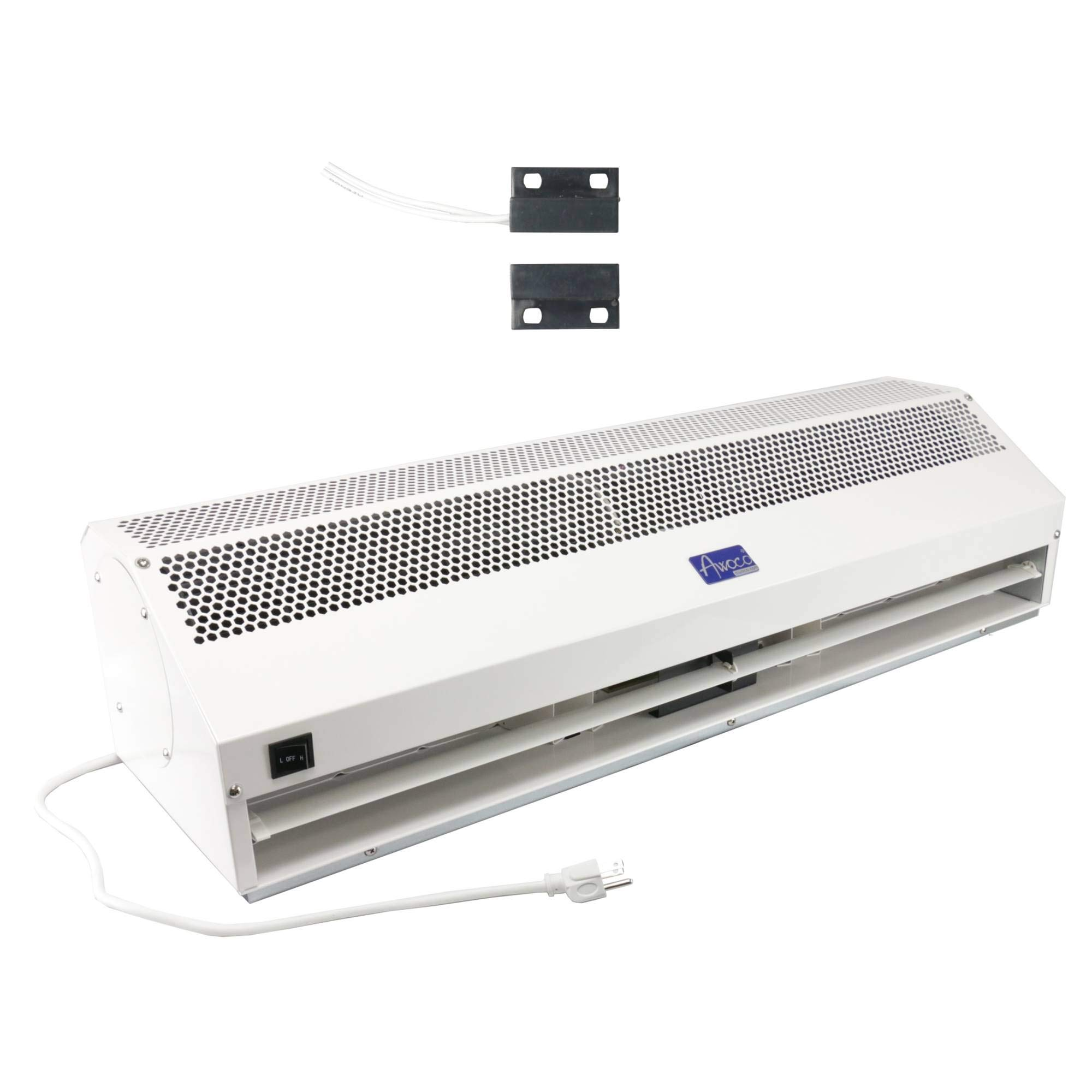 """Awoco 40"""" Super Power 2 Speeds Indoor Air Curtain with Shutoff Delay Magnetic Switch for SwingING Doors"""