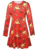Ruiyige Womens Xmas Tunic Dress Dresses,#G152 Red Small…