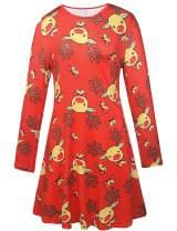 Ruiyige Womens Xmas Tunic Dress Dresses,#G152 Red Large…