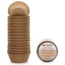 Gifbera Natural Standard Cupcake Liners Odorless Paper Baking Cups 400-Count