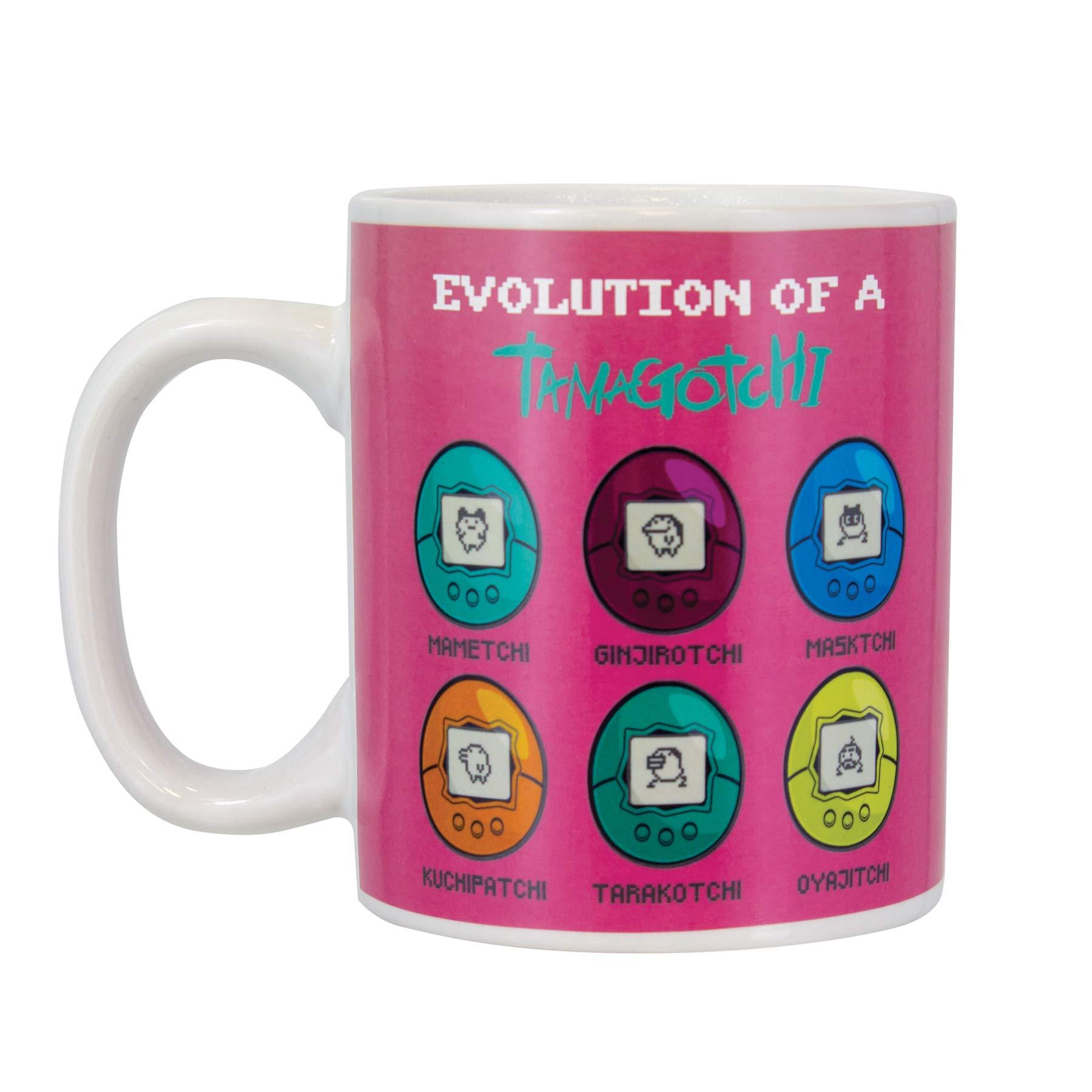 Paladone Evolution of the Tamagotchi Heat Change Coffee Mug