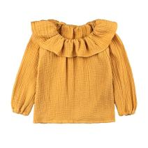 LOOLY Baby Girls Long Sleeve Blouse for Spring Casual Cotton Tops Shirt