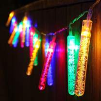 TORCHSTAR 7.71ft 20 LED Bubble Stick String Lights, Battery Powered, Multi-Color Lighting for Celebration, Party, Wedding Decoration