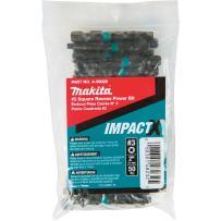 Makita A-99029 Impactx #3 Square Recess 2″ Power Bit, 50 Pack, Bulk