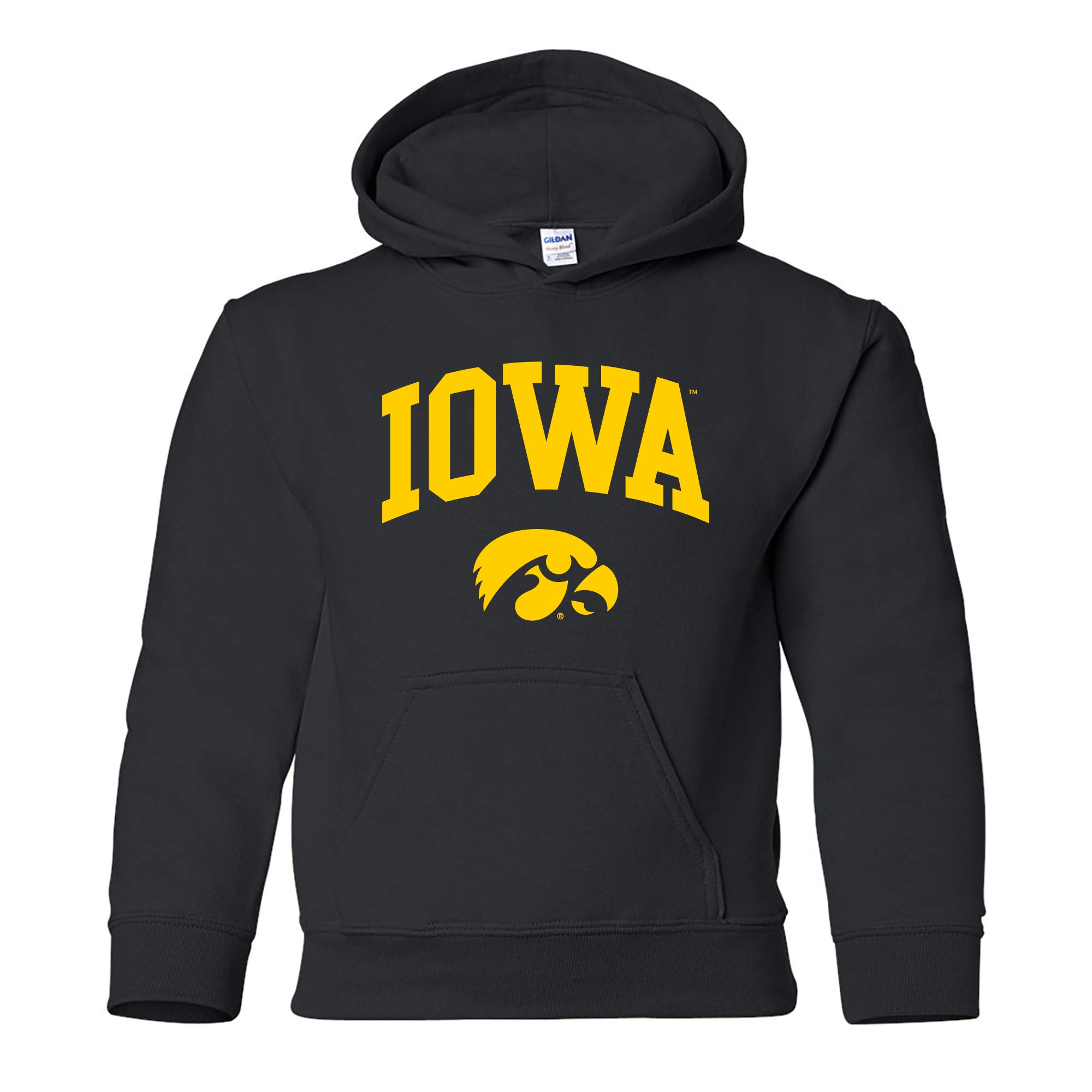 NCAA Arch Logo, Team Color Youth Hoodie, College, University