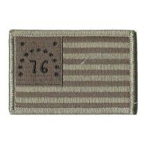"""Bennington 1776 Tactical Flag Patch - 2"""" x 3"""""""