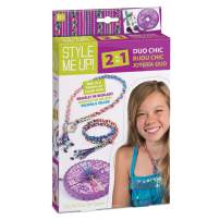 Style Me Up! Duo Chic Necklace and Bracelet Making Kit