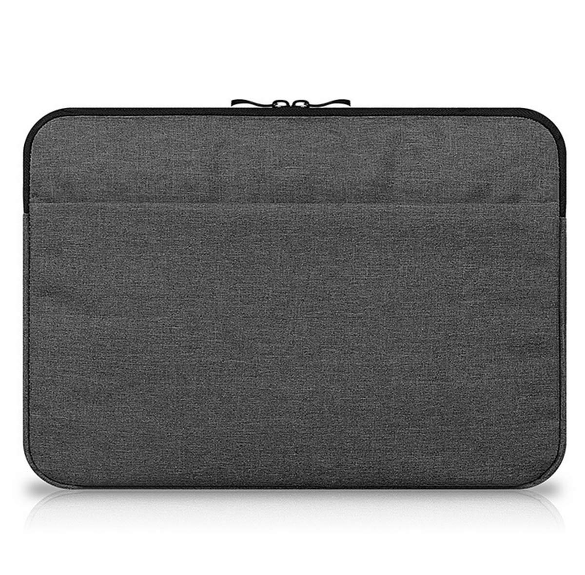 ShiQiMa Waterproof Laptop Sleeve Thicken Protective Case Bag with Pocket - 360 Degree Protective for MacBook Air and MacBook Pro (13''/13.3'', Black)