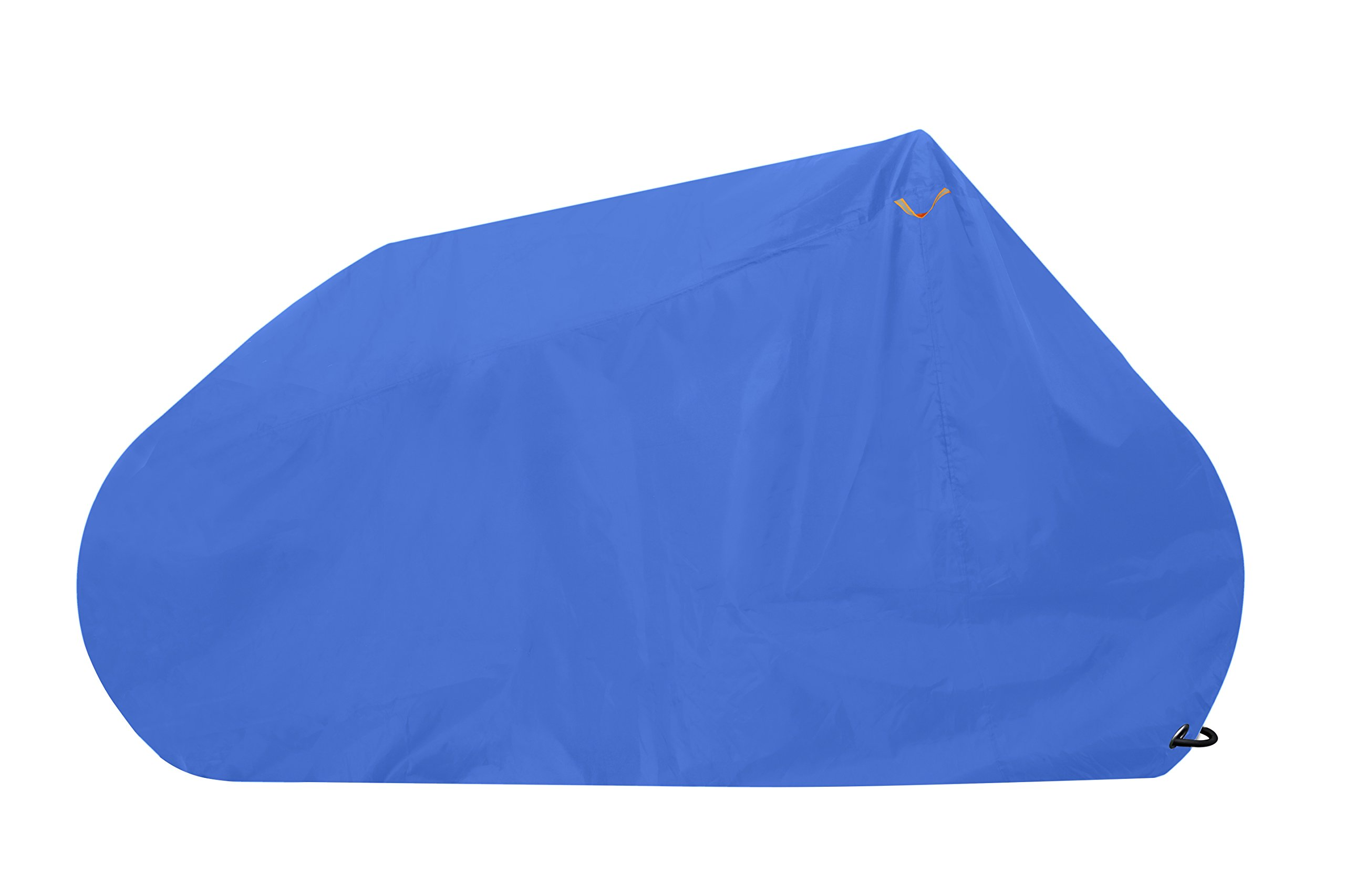 Goose - Bike Cover Waterproof Outdoor - Premium Grade Lockable Bicycle Cover - Heavy Duty Fabric - The Best Protection Available (Blue, Large)