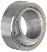 """SKF GEZ 008 ES Spherical Plain Bearing, Unsealed, 1/2"""" Bore, 7/8"""" OD, 7/16"""" Inner Ring Width, 3/8"""" Outer Ring Width"""