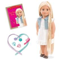 "Our Generation Phoebe-Hair Grow Doll 18"" Doll"