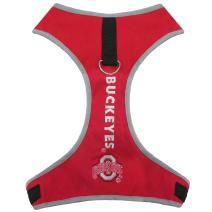 Pets First Collegiate Pet Accessories, Pet Harness, Ohio State Buckeyes, Large